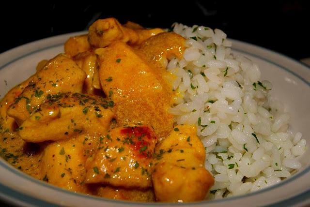 Pollo algunas recetas la saz n la llevo en la sangre for Como cocinar pollo al curry